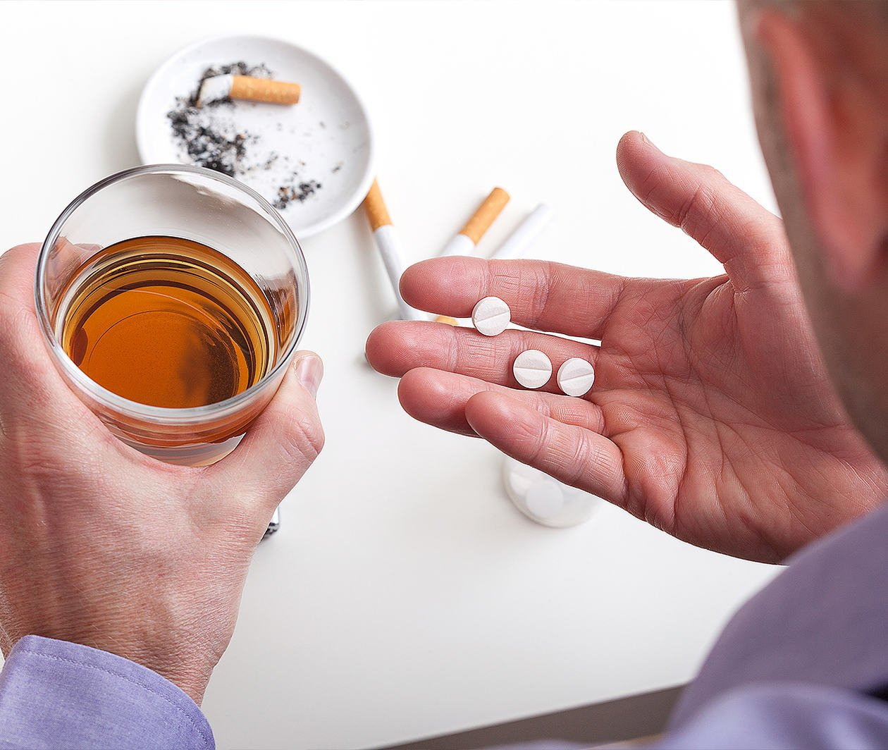 Falling Down: Problematic Substance Use in Later Life