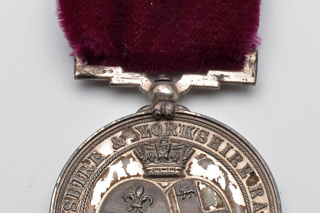Colour photograph of gallantry medal