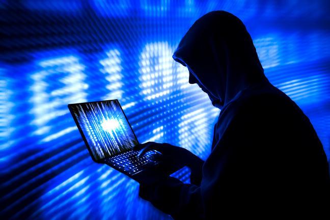 Employee hacking computer