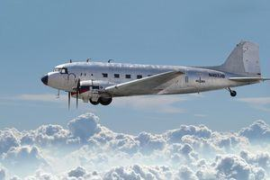DC3 in the sky (Randy Fath©)