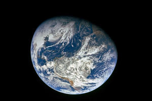 Climate monitoring - Earth viewed from space