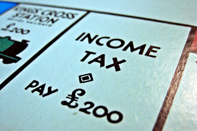 Income tax from monopoly