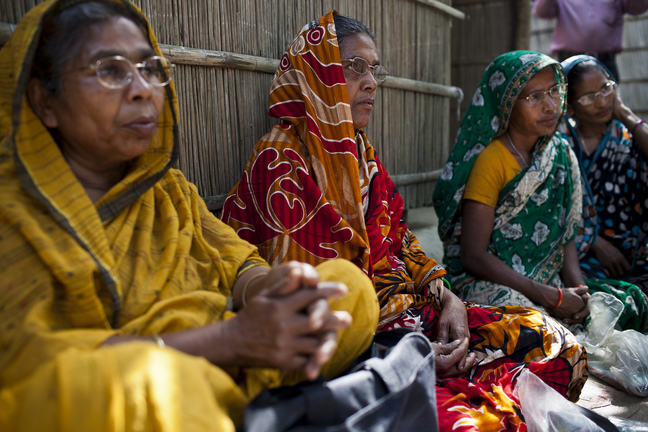 Image of women's group in Rodradha village