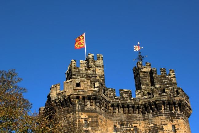 Lancaster Castle to the sky