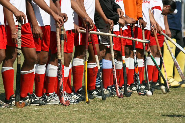 Field Hockey Team, Kila Raipur Rural Olympics 2009, INDIA