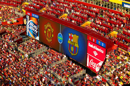 2 of the biggest football clubs and the accompanying global brands