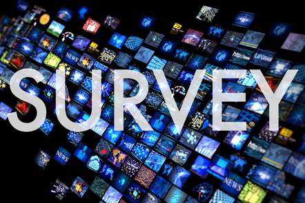 Survey graphic title card