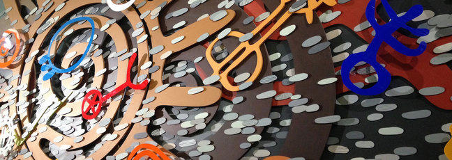 An artwork depicting Breath by Pippa Skotnes