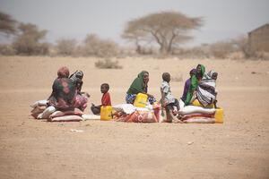 Somalie: des personnes touchées par une grave sécheresse © Pedram Yazdi, CICR