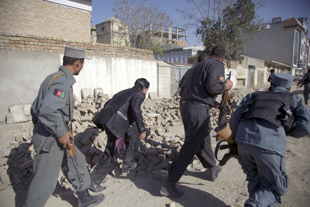 Afghan Security Forces Clash With Taliban After Coordinated Attacks.