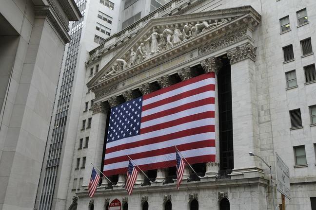 Exterior of New York stock exchange