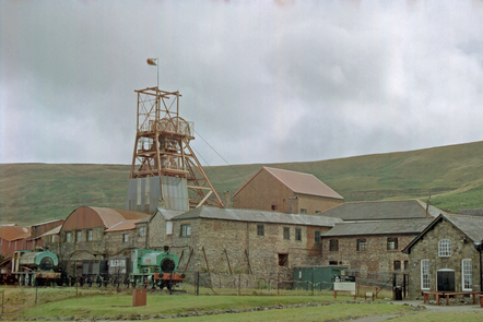 Photograph of the Big Pit