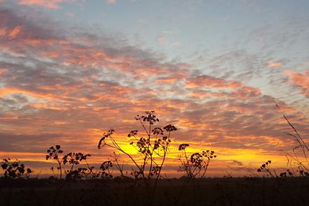 """""""Happisburgh Sunset"""" - Copyright Kirstie Coolin"""