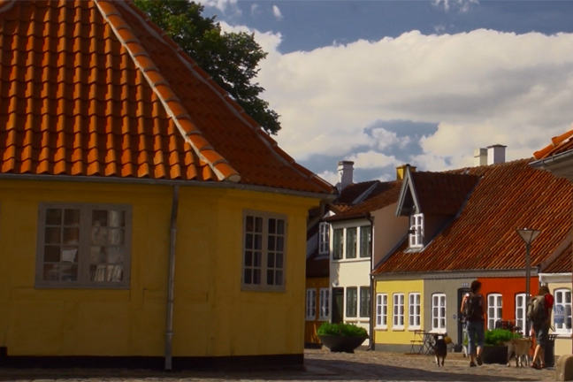 Image showing Hans Christian Andersen's childhood home in Odense
