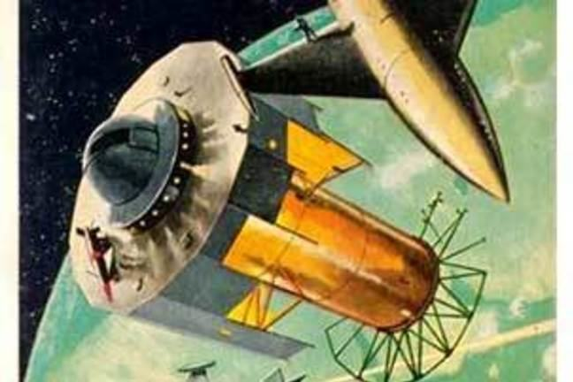 Cover of Isaac Asimov novella The Martian Way