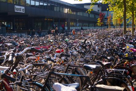 Bikes at University of Twente