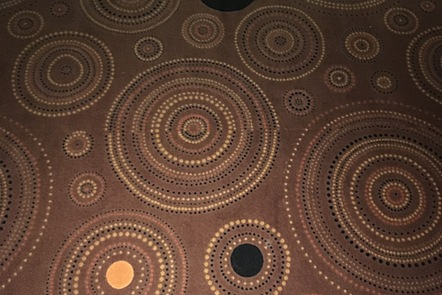carpet with spiral shapes