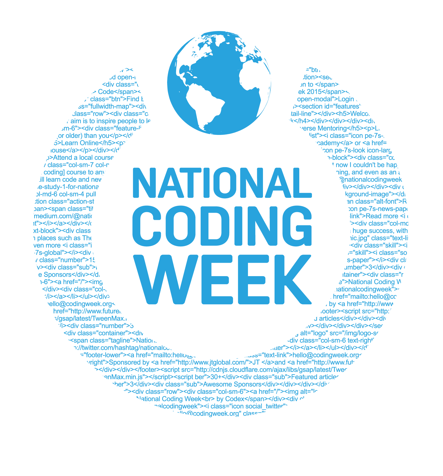 National Coding Week Logo