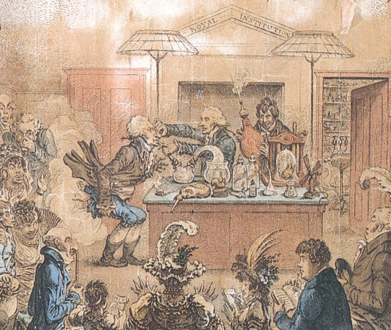 Humphry Davy: Laughing Gas, Literature, and the Lamp