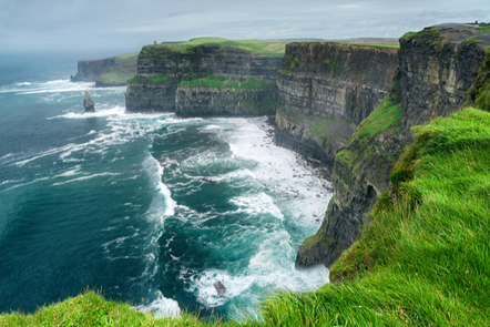 The Cliffs of Moher, Co. Clare.