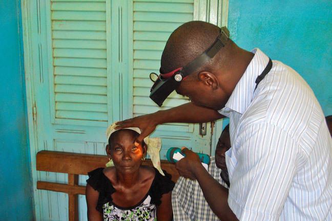Examen des yeux, Côte d'Ivoire