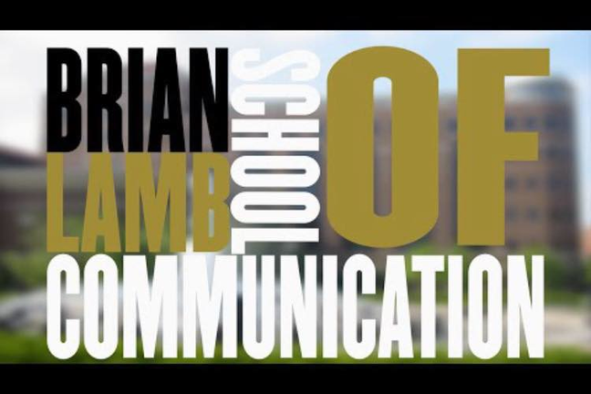 Brian Lamb School of Communication logo