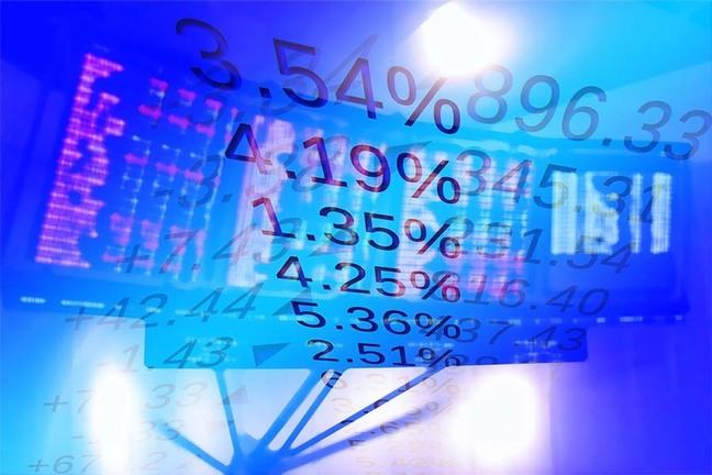 Trading figures on screen