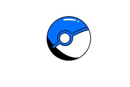 Cartoon pokemon sphere