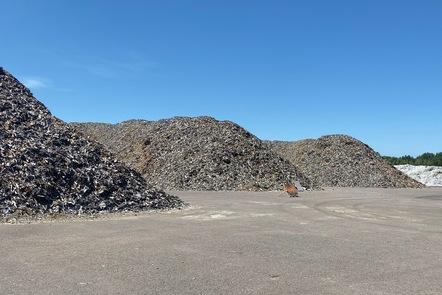 Gärstad Rubbish Dump, Linköping, Sweden