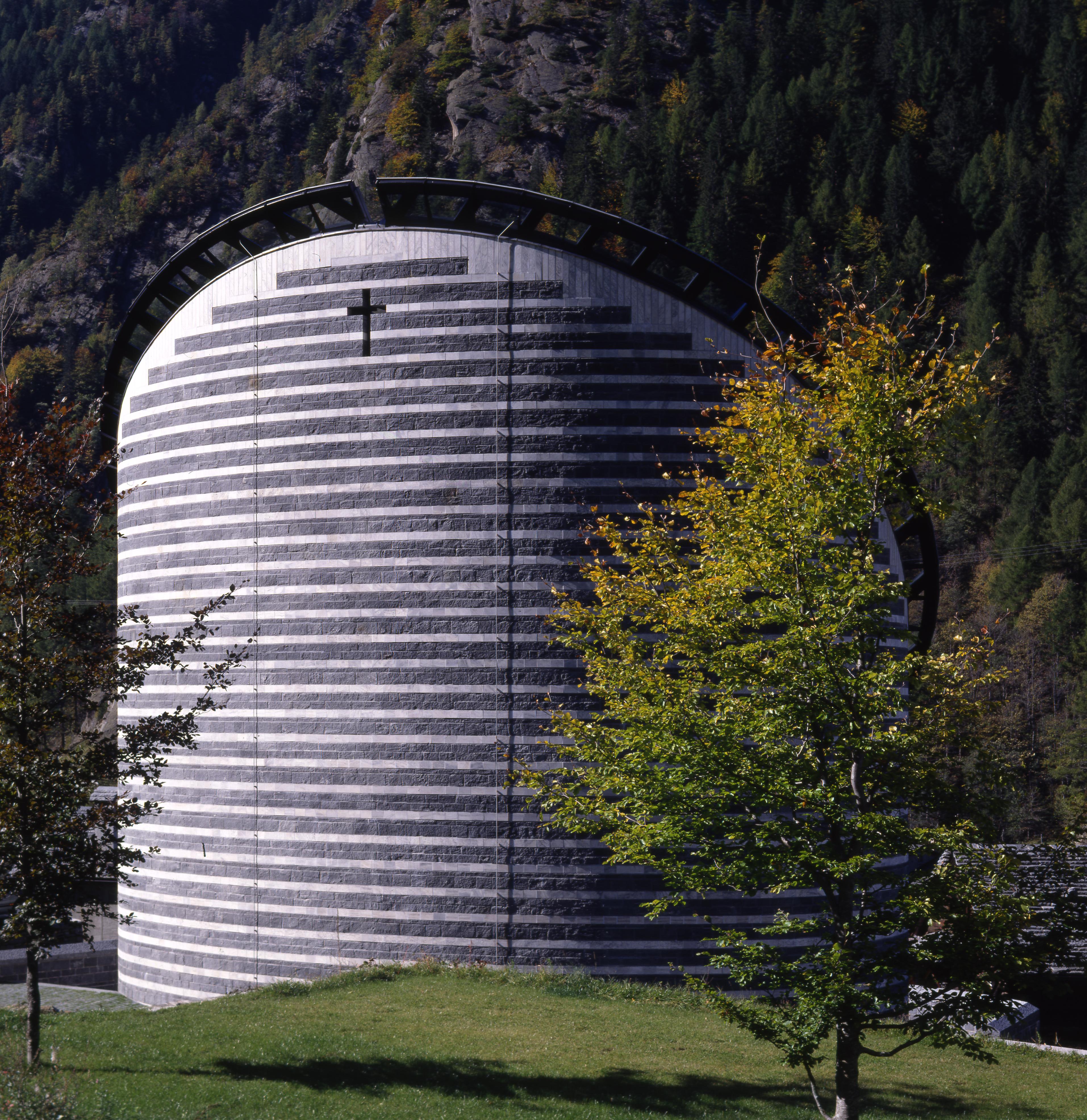 The church of Mogno