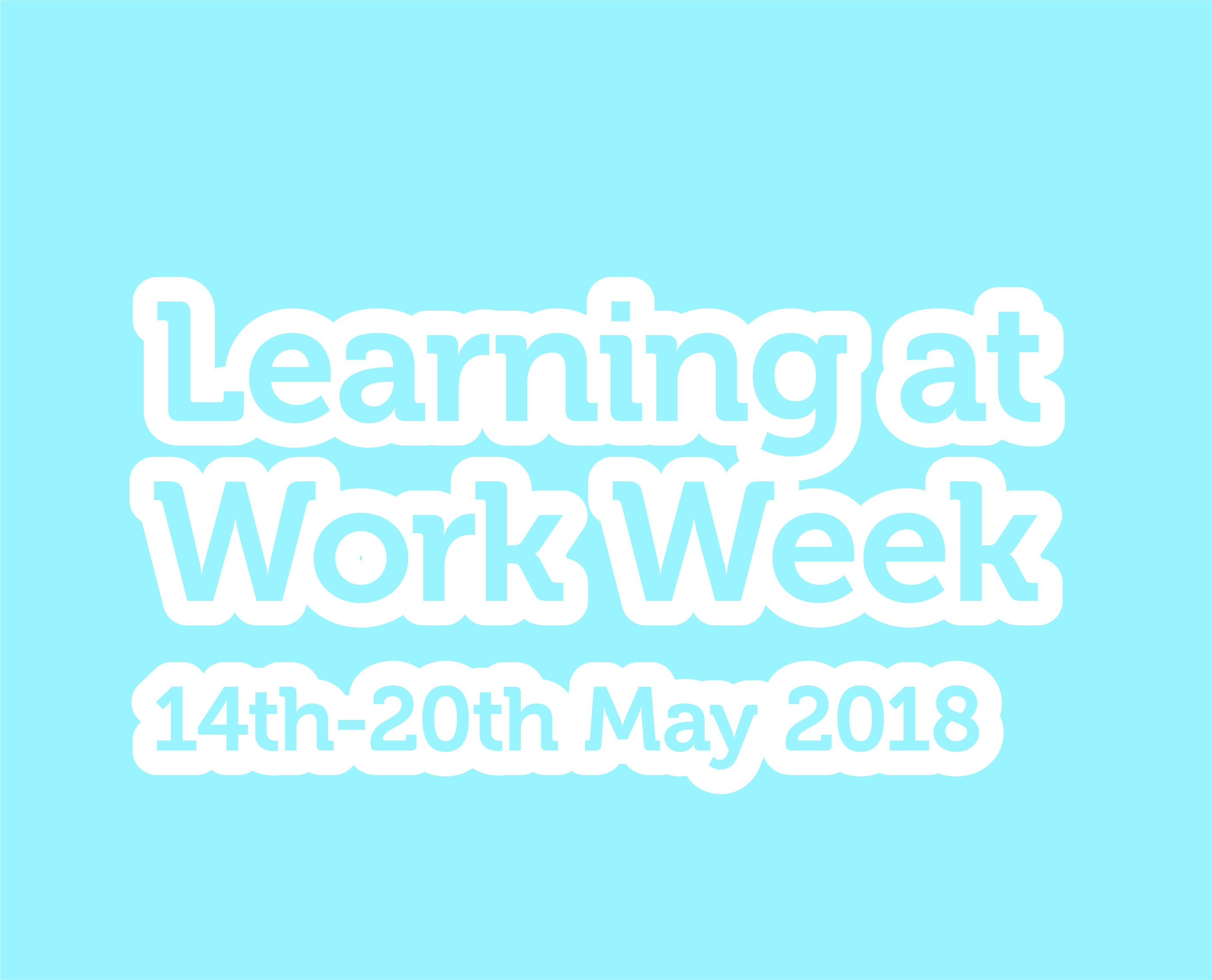 Campaign for Learning Learning at work week square logo