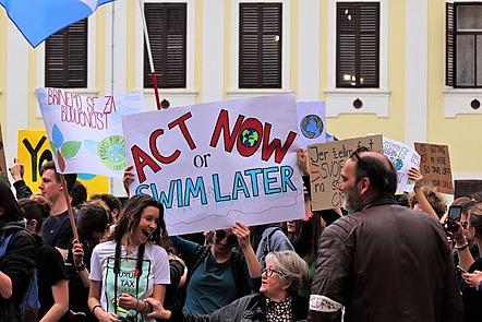 A positive climate protest
