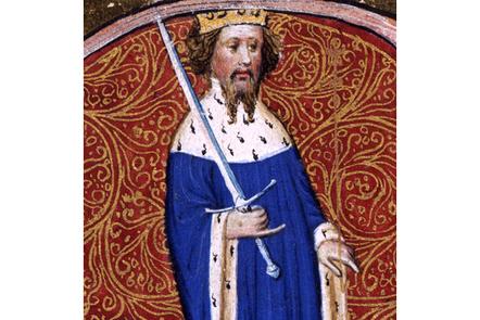 Illumination image of Henry IV