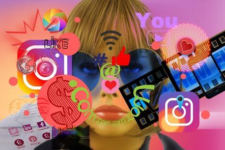 Social media splash