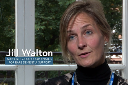 Image of Jill Walton - support group coordinator for Rare Dementia Support