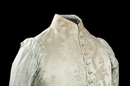 George III's waistcoat. One of the best surviving examples of his clothes
