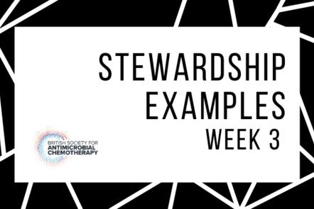 Stewardship examples - week 3