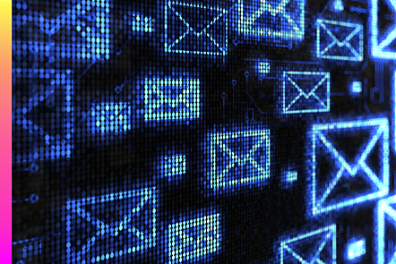 Digital mail icons
