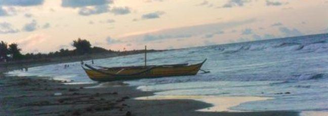 Photo of Bagasbas Beach in my hometown: Daet, Camarines Norte, Philippines