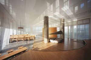 Ex-Noguchi Room in Keio University