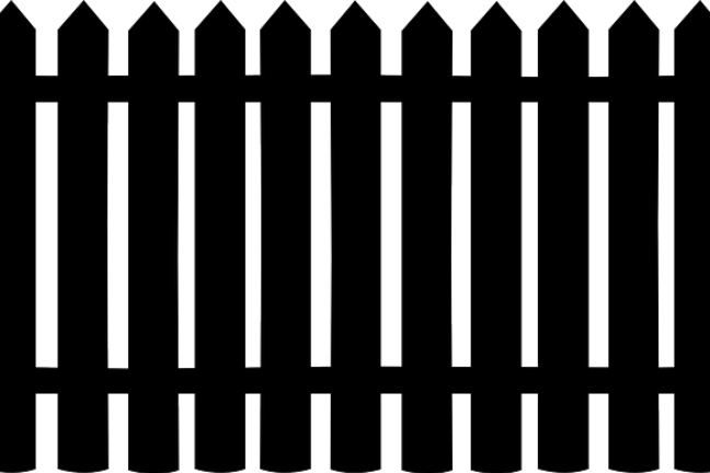 Picture of a rail fence