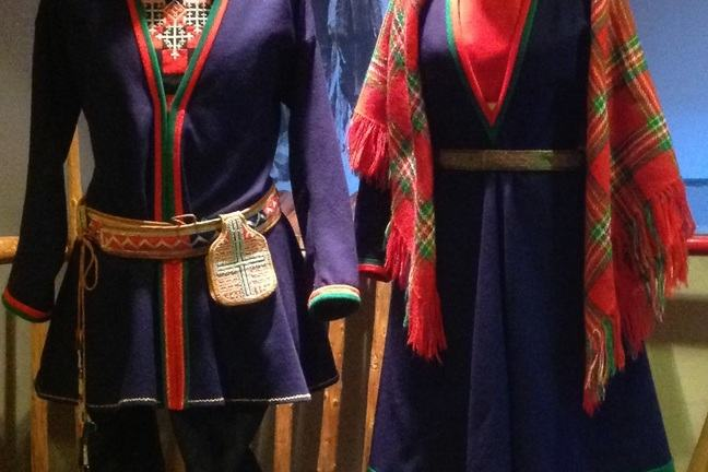 Sami national costume