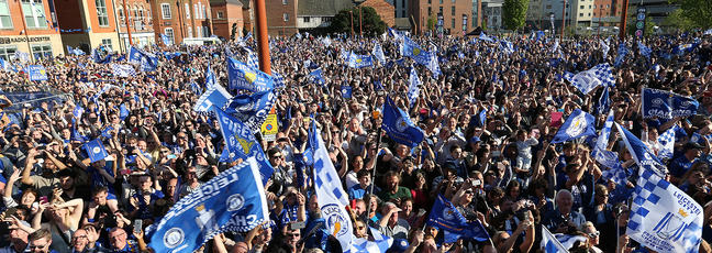 Leicester City Football Club supporters