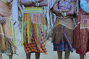 Indigenous grass skirts