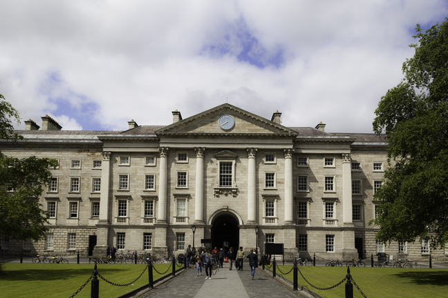 The Front Square of Trinity College Dublin
