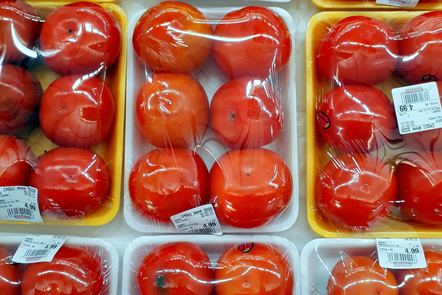 Packaged tomatoes