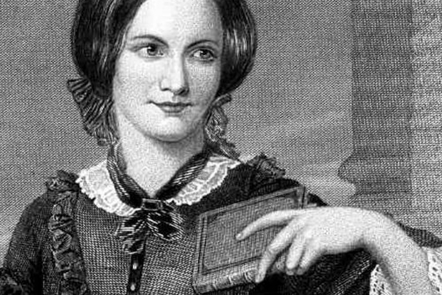The author Charlotte Bronte