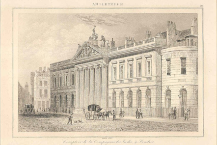 East India House, in a French engraving