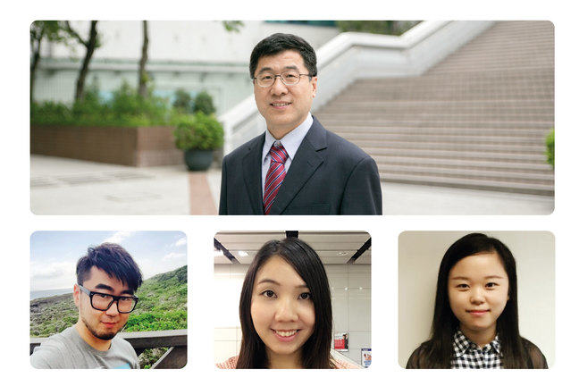 Our team includes Dr Sun, Herman, Belle and Susan.