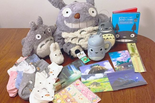 Ghibli merchandise